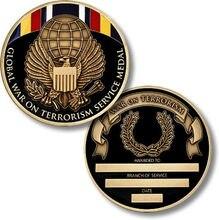 Hot sale Global War on Terrorism Service Medal High quality global war on terrorism service medal low price war medal hl600041 nunan timothy writings on war