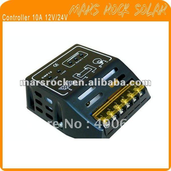 10A 12 V/24 V ШИМ, интеллектуальная регулятором солнечного заряда и регулятор разряда- под промо-Акция