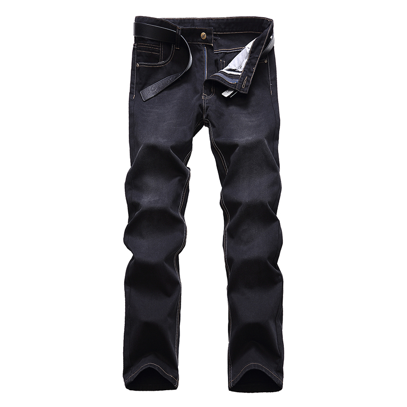 2017 9XL 8XL Men Classic Whiskering Jeans Fashion Casual Jeans Pants Straight Denim Jeans Masculina Male
