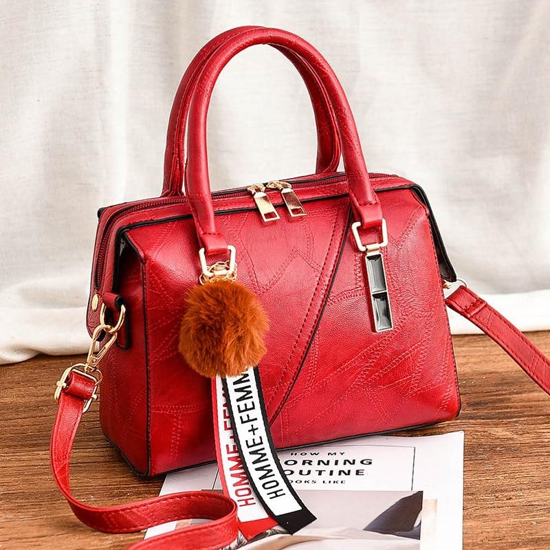 Women's Handbag 2019 New Women Messenger Bag Casual Women PU Leather Handbags Lady Classic Shoulder Bags Female Tote Bags