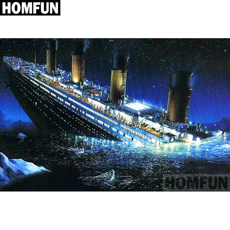 A02133     Titanic ship