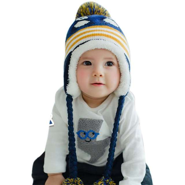 8a451347bb8 placeholder Kids Girls Boys Hats Winter Warm Baby Accessories Colorful  Children Hedging Cap Hat Cute Penguin Newborn