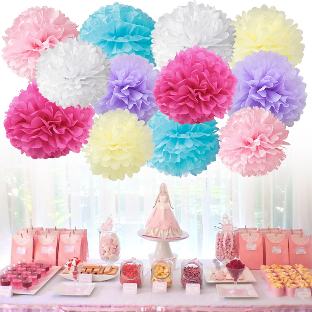 Fine Tissue Paper Hawaiian Flowers Ornament Images For Wedding