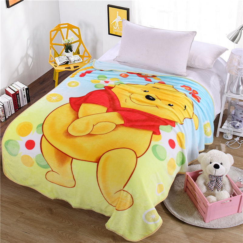 ФОТО Cartoon Soft Coral Blankets Famous European Anime Plush Fleece Blanket Bed Throw Blanket on the Bed/Sofa/Car Free shipping