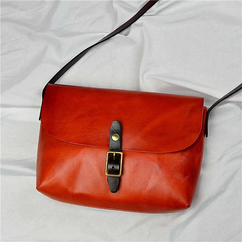 AETOO New vegetable tanned leather suede leather bagAETOO New vegetable tanned leather suede leather bag