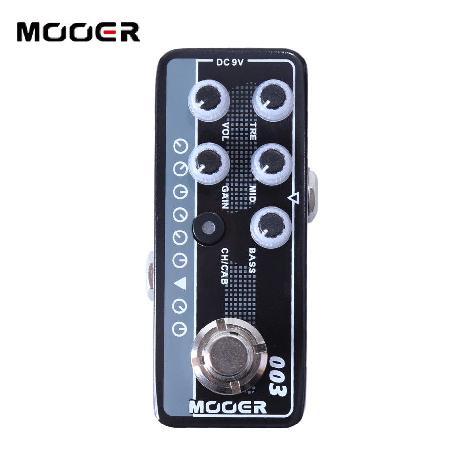 Mooer 003 Power-Zone electric guitar effect pedal High quality dual channel preamp Independent 3 band EQ 003 is based on Koch high quality b20 cymbals dragon 16 o zone china