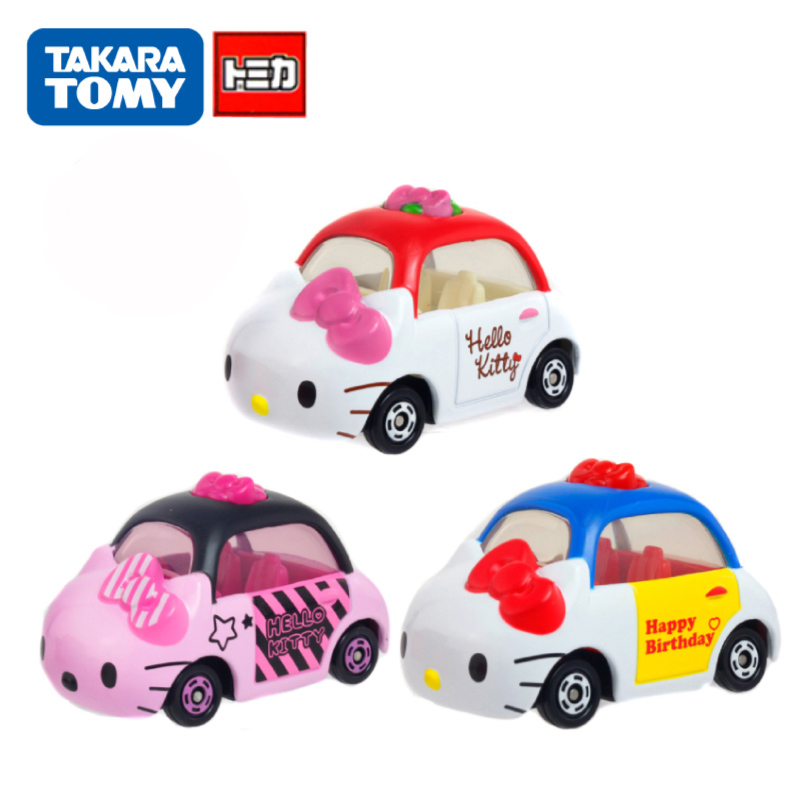 Hello Kitty Toy Car For Girls : Disney tomica car hello kitty diecast toys metal model