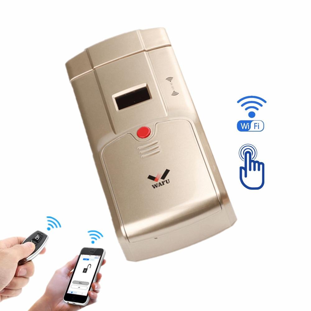 WIFI APP Remote Unlock and Remote-key control Keyless Entry