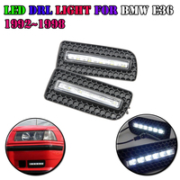 ABS Aluminium Cover Car LED Daytime Running Lights High Power 12W Led Drl Waterproof Daylight For