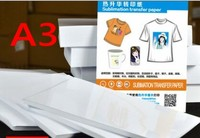 Papel de sublimação de transferência de calor 100 pcs para não algodão material A3 tamanho|paper for|paper sublimation|paper a3 size -