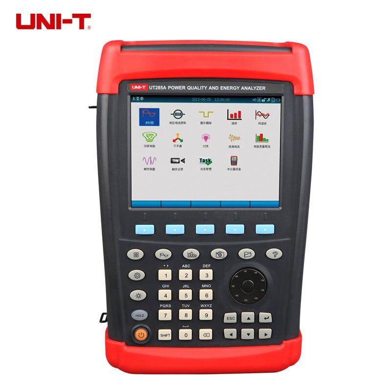 UNI T UT285A ручной трехфазный энергии и Мощность Анализатор качества 0,1 ~ 1000 В