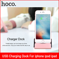Aluminum Alloy Sync USB Charging Stand Dock For iphone 7s 4.0 4.7 5.5 inch Mobile Holder Desk Base pop Socket For iphone 6 5s 7