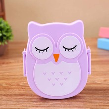 US $2.09 30% OFF Cute Owl Pattern Students Lunch Bowl with Spoon 900ml Camping Picnic Storage Box Portable Baby Kids Bento Food Container-in Baby Food Storage from Mother & Kids on Aliexpress.com   Alibaba Group