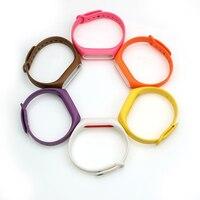 BEST BOORUI Double color mi band 2 accessories pulseira miband 2 strap replacement silicone wriststrap for xiaomi mi2 smart bracelet