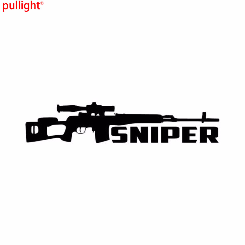 Hot Sell Car Styling Personality Sniper Fashion Vinyl Sticker Window Car Decals