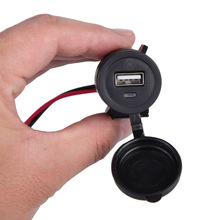 Waterproof Motorcycle 12V USB Phone Charger