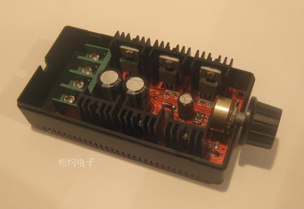 5pcs/lot,2017 NEW PWM DC Motor Speed controller Switch 12V 24V 36V 48V 40A 2000W Adjustable Regulator 5pcs lot intersil isl8120xirtz isl8120 qfn dual n phase buck pwm controller with integrated drivers