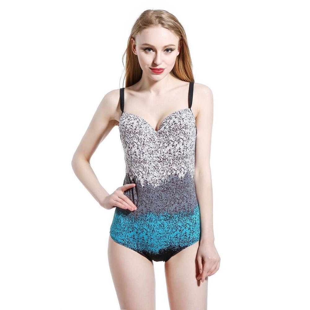 2018 Sexy Women One Piece Swimsuit 2017 Summer Monokini Brazilian Bikini Swimwear Push Up Large Size Swimwear 6XL-10XL