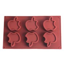Силиконовые формы для торта в форме яблока шоколадные конфеты