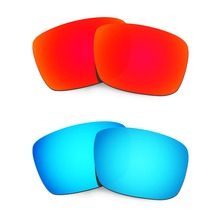 d1f0bcdbab HKUCO For Fuel Cell Sunglasses Polarized Replacement Lenses Red Blue 2 Pairs (China)