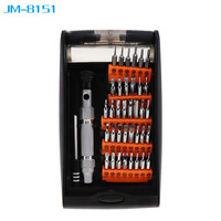 JM 8151 Portable 38 In 1 Hardware Hand Tools Set Multi Function Precision Screwdriver Kit For