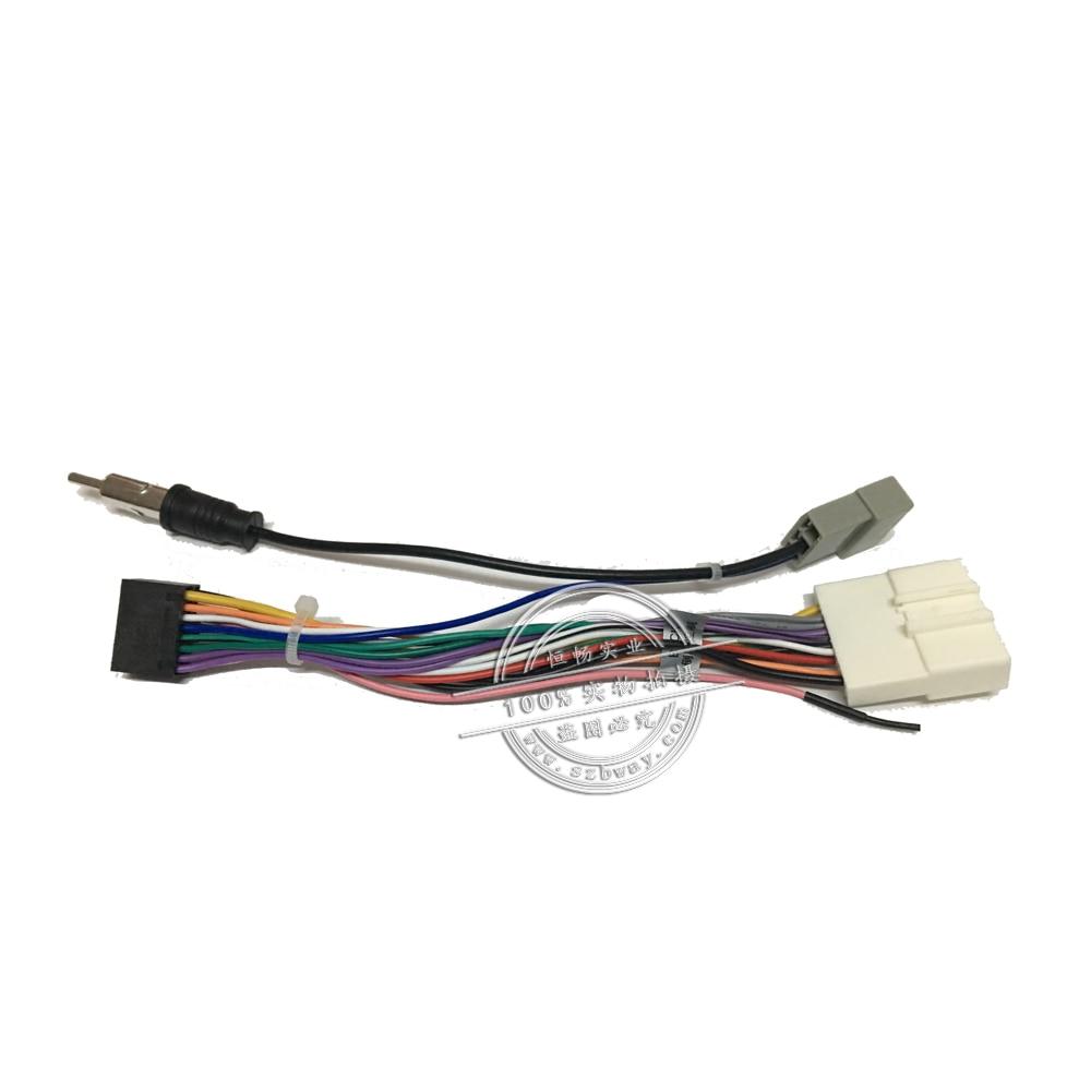 Autórádió sztereó női ISO dugó tápegység kábelköteg - Autóelektronika - Fénykép 2