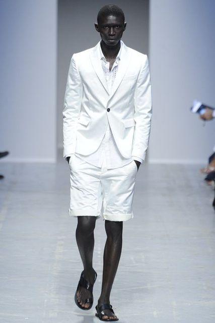 2017 Latest Coat Pant Designs White Men Suit Short Pant Summer ...