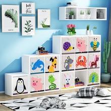 Cabinet Furniture Bookshelf Children Toy Wood Estante-De-Almacenamiento-De-Juguetes Sale