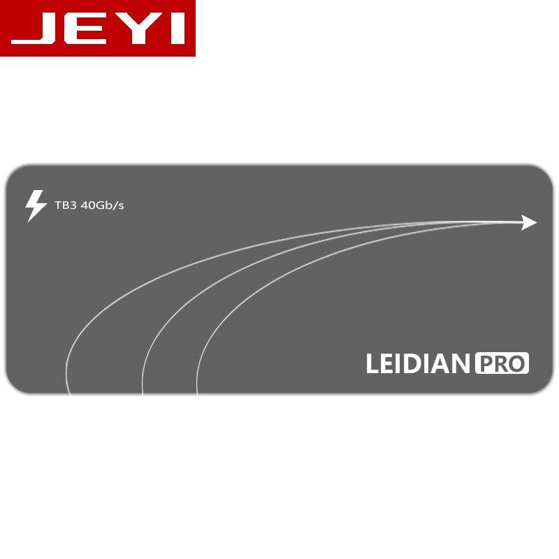 JEYI thunderbolt 3 m.2 nvme carcasa móvil caja NVME a TYPE-C aluminio tipo C3.1 m 2 USB3.1 M.2 PCIE U.2 SSD LEIDIAN-3
