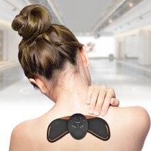 EMS Smart шейного позвонка массаж плеч стимулятор тела, массажер для шеи электромиостимуляции шеи облегчить боль