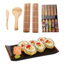 Ensemble d'outils de cuisine pour fabriquer des sushis, moule à riz, ensemble de 9 pièces/ensemble