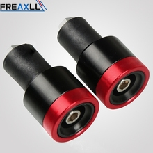 Universal Motorcycle Handlebar Grips Ends 7/8 22mm Hand Bar End For Ducati Monster Multistrada 1200 R S Hypermotard 1100 959 for ducati crose monster multistrada mts streetfighter hypermotard motorcycle wheel sticker decal reflective rim bike suitable