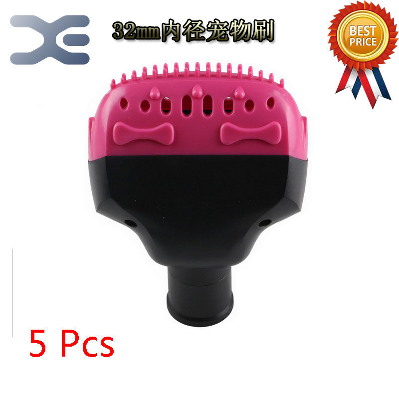 где купить  5Pcs Vacuum Cleaner Accessories In Addition To Mite Brush Pet Brush Anti-Static Dog Hair Deep In Addition To Mite Pet Brush  по лучшей цене