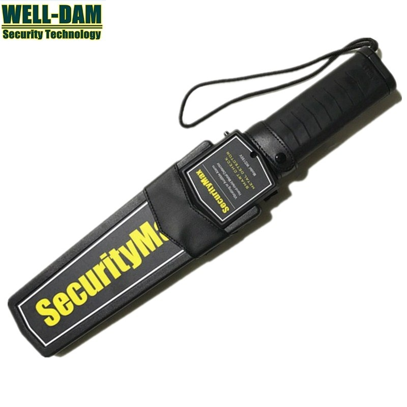 Brand New High Sensitivity Super Scanner Hand Held Gold Metal Detector For Security Detectors brand new high sensitivity mini portable folding handheld metal detector ts80 guard security scanner sound light vibration alarm