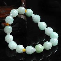Natural flower bead bracelet new women adjustable bracelet with certificate