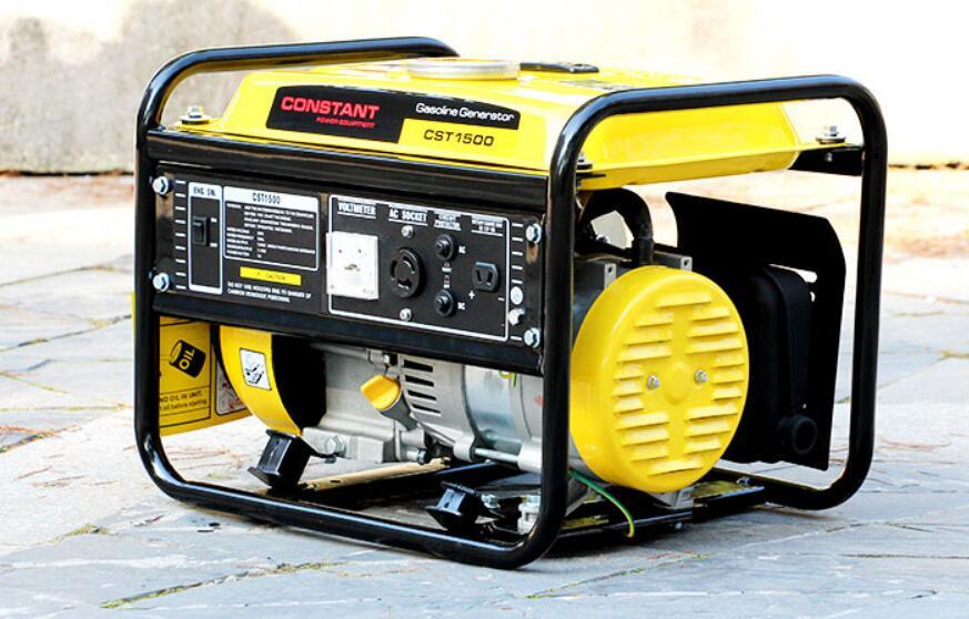 2.8HP 87CC 1kw gasoline generator 220V household 1000W mini single-phase portable fuel saving CE certified
