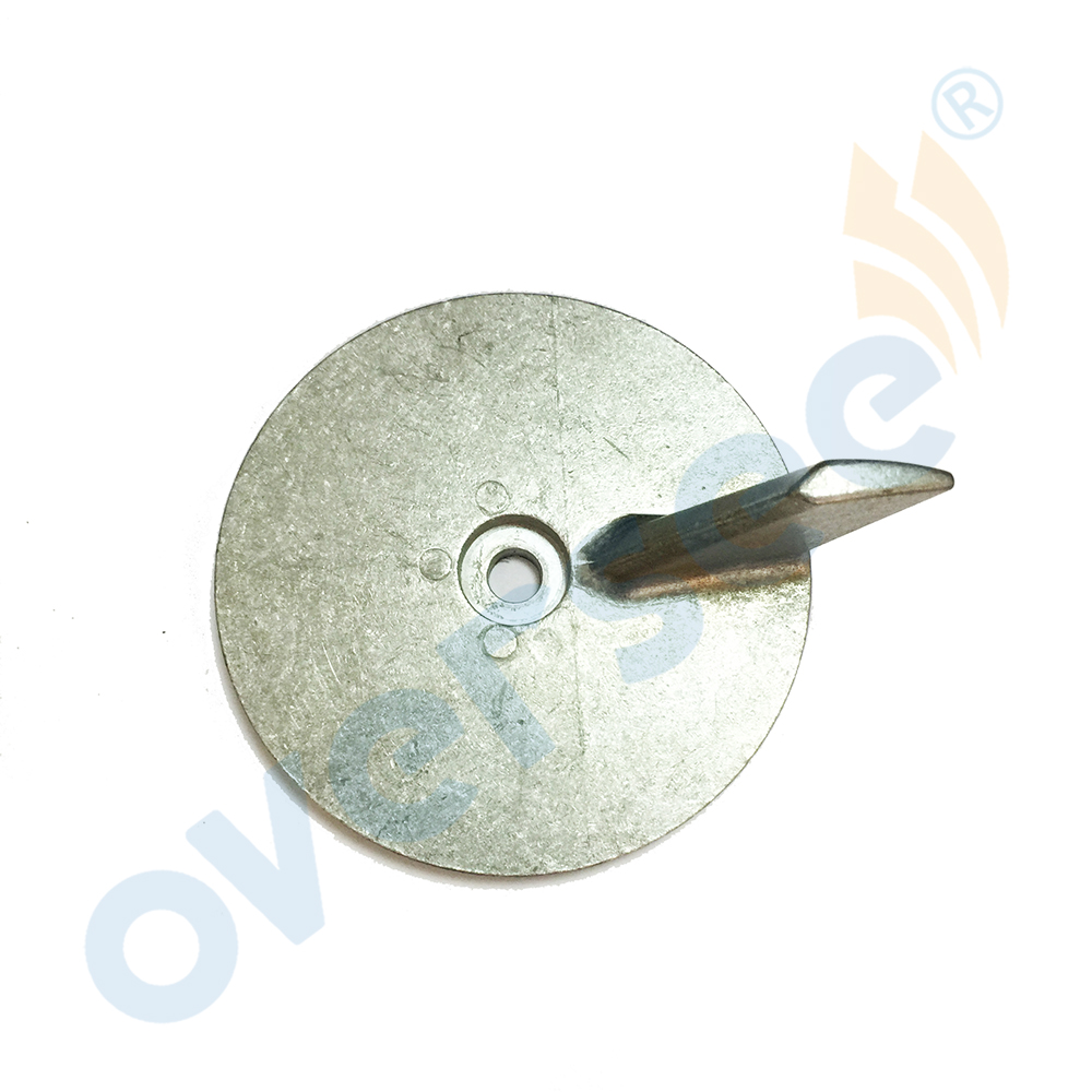 Anode Trim Tab Zinc 664-45371-00 For Yamaha Outboard Motors 664-45371 25-30-40-50 HP Outboard