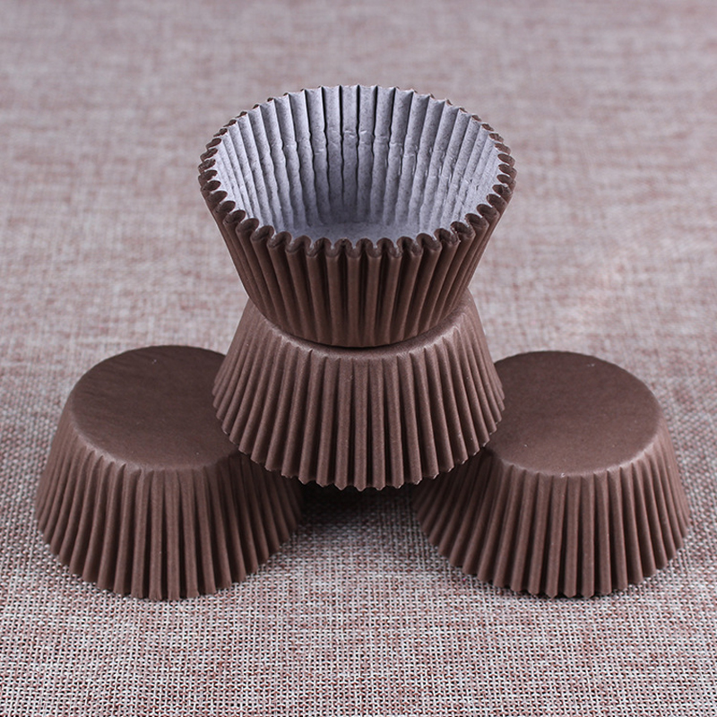 Paper Cupcake Cups : Pcs set paper cake cups baking cupcake stand
