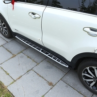 For For Kia Sportage KX5 2016 2017 2018 2019 Car Running Boards Auto Side Step Bar Pedals New OEM Product