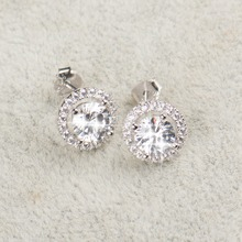 925 Sterling Silver Bridal Jewelry Set