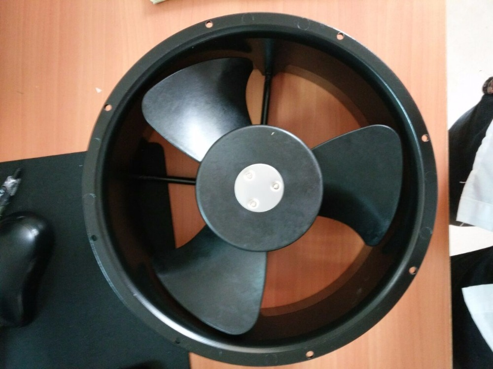 Free Shipping Emacro FULLTECH UF-25HC23 BTH UF25HC23BTH AC 220V 95/125W 2-pin 254x254x107mm Server Round Cooling fan free shipping new uf 15pc23 bth ac 230v 29w 172x150x51 server round cooling fan