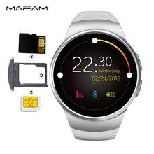 KW18 Смарт-часы SIM карты памяти слот dialer SmartWatch телефон MP3 видео волшебный голос сердечного ритма Мониторы шагомер для Android IOS