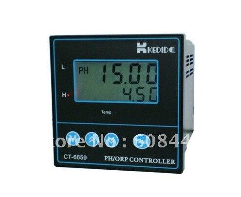 ЖК-CT-6659 PH/ОВП контроллер CT-6659+ ph электрод промышленности ph сенсор CT-1001C 10 м Лин+ DHL/FedEx и быстрая