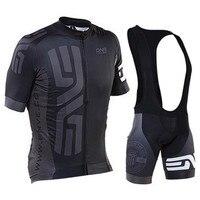New Summer cycling jersey sets mens pro team cycling clothing short sleeve mtb jersey set/kits cycling bib shorts/pants 9d pad