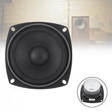 цена на 4 Inch 30W Full Range Speaker Rubber Tweeter Midrange Woofer Low frequency For  Speaker Bluetooth DIY