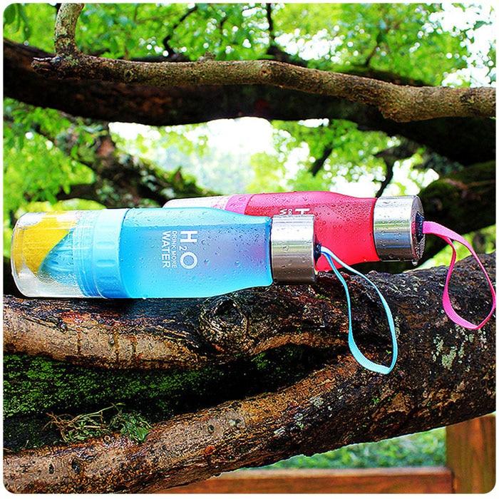 HTB1Egi.kH1YBuNjSszhq6AUsFXaa Transhome Creative Fruit Infuser Water Bottle 650ml Portable Plastic Water Bottle For Lemon Juice Sport Drinking Water Bottles