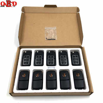 HKOBDII 10pcs Xhorse Universal 3 Button Remote Key for VW Volkswagen B5 Type VVDI2 MINI Programmer VVDI Key Tool English Version - DISCOUNT ITEM  20% OFF All Category
