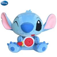 Disney Brand Lilo And Stitch Lollipop Kawaii Plush Cotton Stuffed Animal Toys Doll Christmas Gift Toys