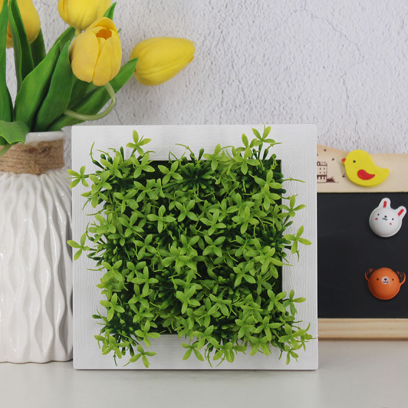 Greatflower Diy Real Touch Plastic Hanging Frame Plant Artificial