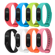 For Xiaomi Mi Band 2 Bracelet Strap Colorful Strap Wristband Replacement Smart Band Accessories For xiomi